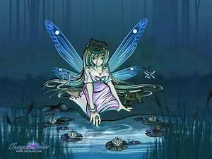 Water Fae Spirit Fantasy / Anime Style Fairy by Tazmaa on ...