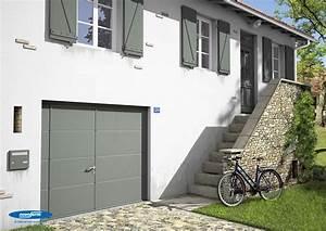 Porte De Garage Novoferm : porte de garage sectionnelle iso 45 panneau sans nervures ~ Dallasstarsshop.com Idées de Décoration
