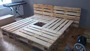 Bett Aus Paletten Kosten Schlafen Holz