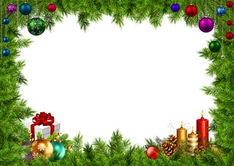 Transparent Background High Resolution Garland Png by Border Frame Png Image Gallery Yopriceville