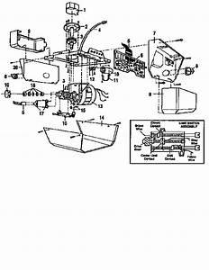 Craftsman Model 13953644srt Garage Door Opener Genuine Parts