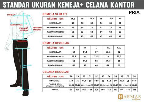 standar ukuran konveksi seragam kantor seragam kerja