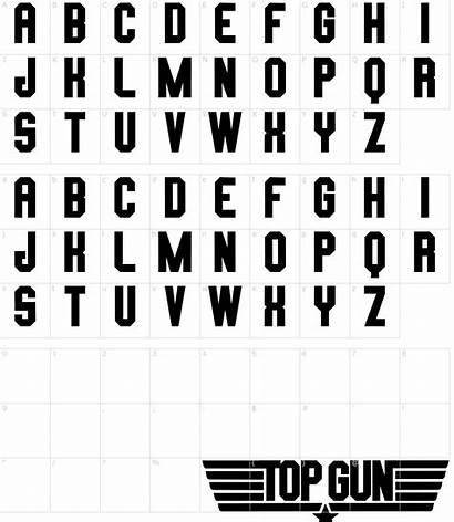 Font Gun Transparent Fonts Clipart Characters Pikpng
