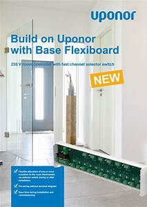 Uponor Folder Base Flexiboard 230 V Room Control En 1089190 By Uponor Norway