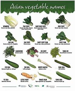 Asian Vegetable Names. Pic from https://www.facebook.com ...