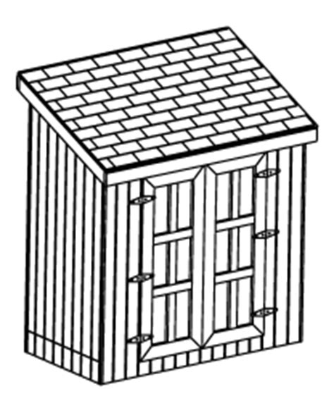 12x16 gable roof garden shed plans diy 26 plan set