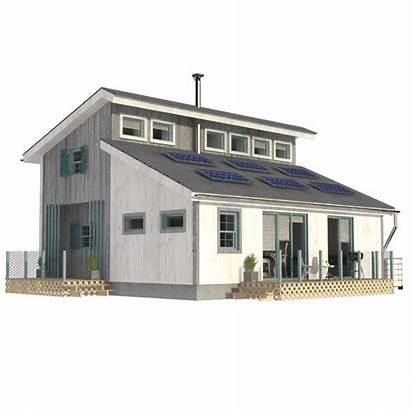 Clerestory Plans Cabin Floor Modern Pinuphouses Wood