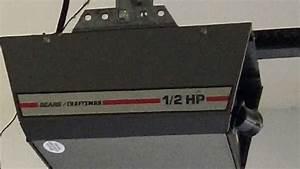 Craftsman Garage Door Opener Model Number