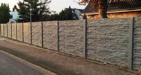 Gartenmauern Aus Beton : untermauerungen betonzaun zaun aus beton gartenzaun ~ Michelbontemps.com Haus und Dekorationen