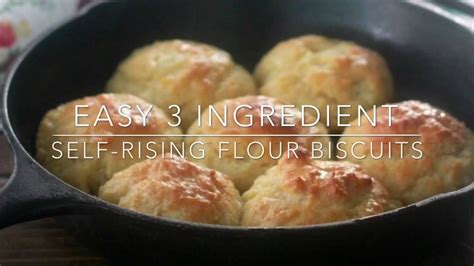 Easy Self-Rising Flour Biscuits