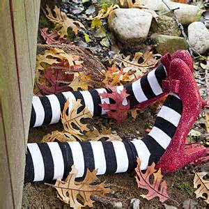 wicked witch legs fun family crafts
