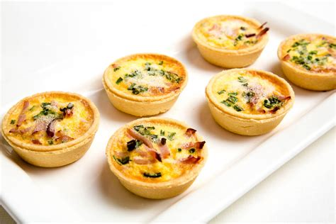 and easy canapes mini quiche the marulan general store