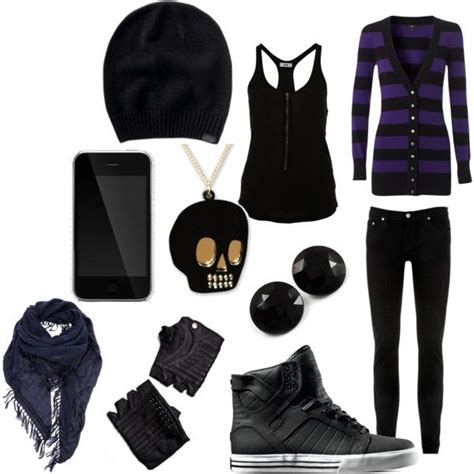 U0026quot;EMOu0026quot;? By annafashionlover on Polyvore I still love this | Punk clothes | Pinterest | Pants ...