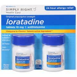 Simply Right Loratadine Antihistamine (200 ct.,2 pk) - Sam's Club Loratadine