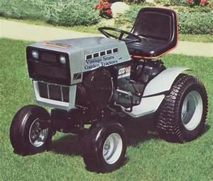 Sears Gt18 Mower Blades