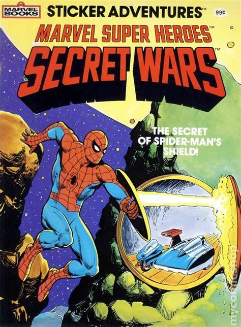 marvel super heroes secret wars sticker adventures sc