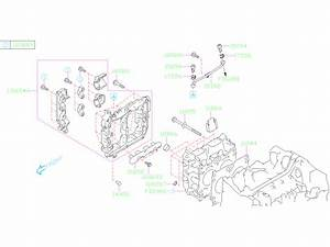 2019 Subaru Forester Plate Cylinder Head  System  Engine  Cooling