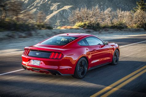 ford mustang ecoboost  perfect balance  power  fuel economy review  fast lane car