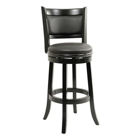 Kitchen Stools With Back by Kitchen Island Stools With Back Augusta Black Bar Stool