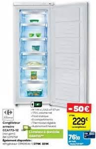 Congelateur Armoire Promotion by Carrefour Promotion Cong 233 Lateur Armoire Cca173 12