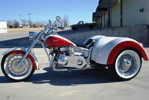 Trike motorcycles and trike conversion kit manufacturers