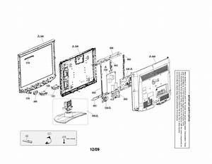 Case Parts Diagram  U0026 Parts List For Model 26lh20 Lg