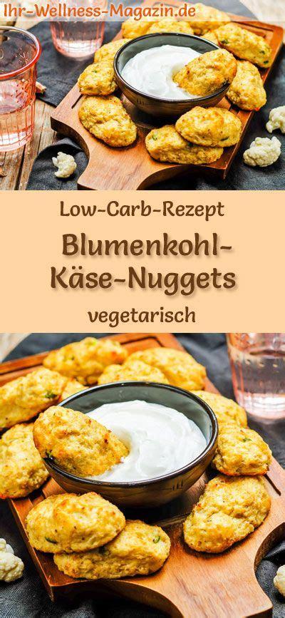 diätplan ohne kohlenhydrate low carb blumenkohl k 228 se nuggets gesundes vegetarisches hauptgericht