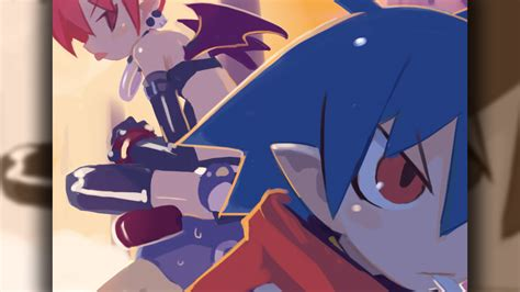 disgaea 2 pc wallpaper 010 laharl etna wallpapers