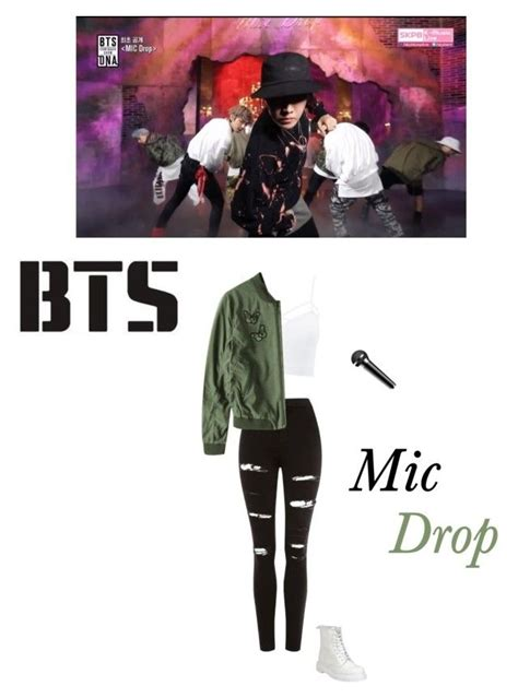 U0026quot;Bts- mic drop live performanceu0026quot; by mochichimchim liked on Polyvore featuring Topshop Charlotte ...