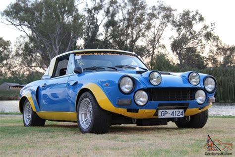 Fiat 124 Abarth Group 4 Replica Racecar In Vic
