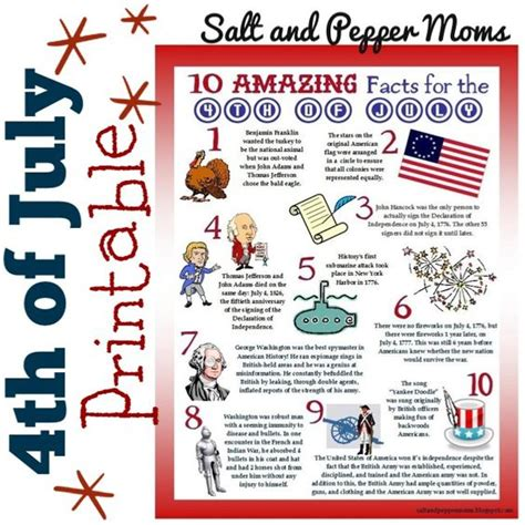 4th of july trivia trivia independence day and facts on pinterest