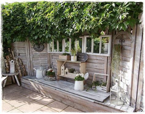 Sichtschutz Garten Shabby Chic by Shabby Landhaus Die Vielen Gesichter Meiner Terrasse