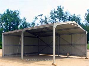 Abri En Kit : abri en kit m tallique 6 x 10 x 3 17m direct batiment ~ Premium-room.com Idées de Décoration