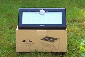 Solarlampen Mit Bewegungsmelder Und Akku : albrillo led solarlampe im test ~ A.2002-acura-tl-radio.info Haus und Dekorationen
