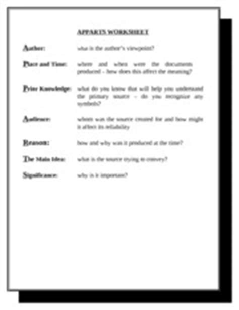 Apparts Worksheet 2 Filled With Blanks  A Udience R