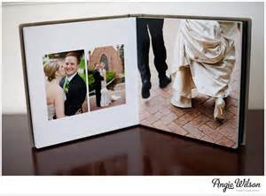 wedding albums flushmount wedding album angie wilson photography
