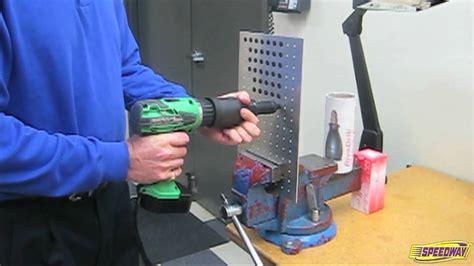 rivedrill rivet drill attachment youtube