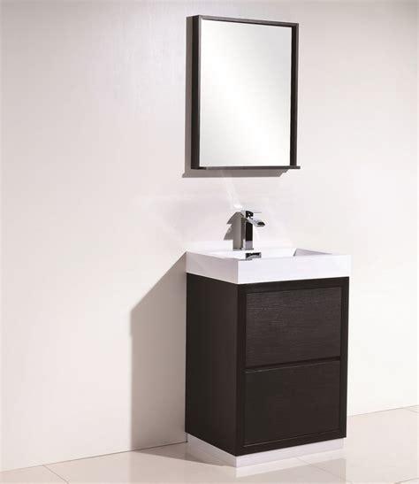 bliss  black  standing modern bathroom vanity