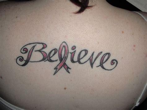 inspirational breast cancer tattoos tattoo