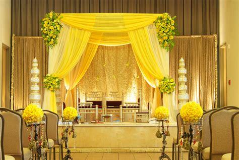 yellow fabric style mandap mandaps pinterest yellow