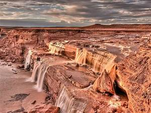 Grand, Falls, Waterfall, Is, Located, 30, Miles, Northeast, Of