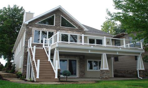 Lake Home House Plan 1 634 SF Ranch Blueprints 0712 Lake