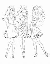 Coloring Pages Models Medium Appealing Getcolorings Printable Getdrawings Colorings sketch template