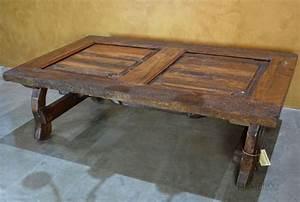 yugos rustic old door coffee table demejico With rustic door coffee table