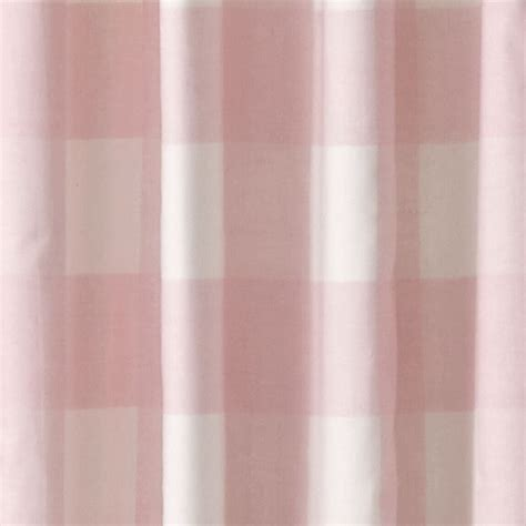 Land Of Nod Blackout Curtains by Buffalo Check Pink 63 Quot Blackout Curtain The Land Of Nod