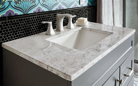 Marble Vs Granite Bathroom Countertops by Quartz Bathroom Countertops Sportntalks Home Design