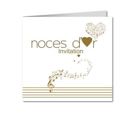 anniversaire de mariage noces d or carte anniversaire de mariage partition notes de musique