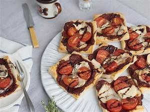 Tomaten Richtig Schneiden : bl tterteig tartelettes mit kirschtomaten und ziegenk se ~ Lizthompson.info Haus und Dekorationen