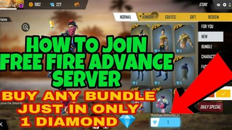 Free fire advance server is an android apk that lets users test features and elements before they're officially released. Free Fire Advance Server August 2019//How To Join || How ...