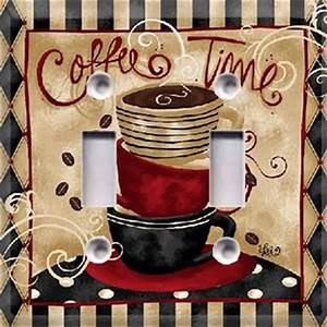 Coffee time light switch cover kitchen decor choose your for Kitchen light switch covers kitchen